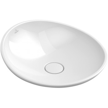 Surface-mounted washbasin Round My Nature, 411045, Diameter: 450 mm