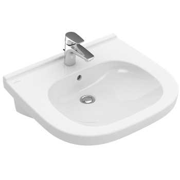 Washbasin Vita Oval O.novo Vita, 411960, 610 x 550 mm