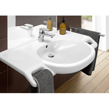 Washbasin Vita Oval O.novo Vita, 412080, 800 x 550 mm
