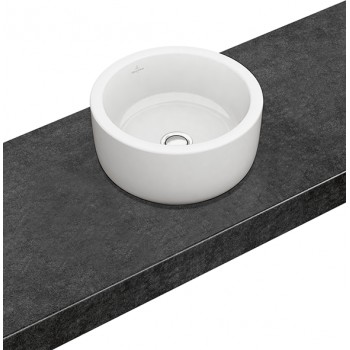 Surface-mounted washbasin Round Architectura, 412540, Diameter: 400 mm