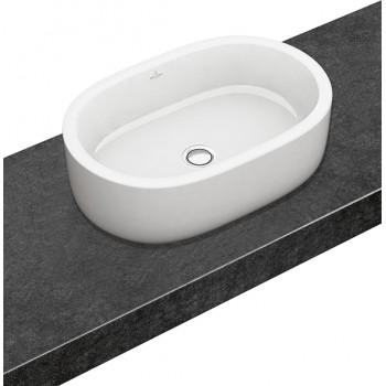 Surface-mounted washbasin Oval Architectura, 412660, 600 x 400 mm