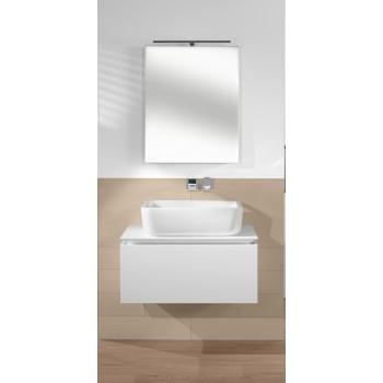 Surface-mounted washbasin Rectangle Architectura, 412760, 600 x 410 mm
