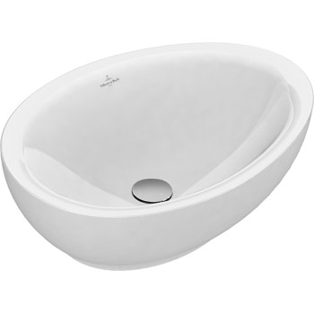 Surface-mounted washbasin Oval Aveo new generation, 413260, 595 x 440 mm