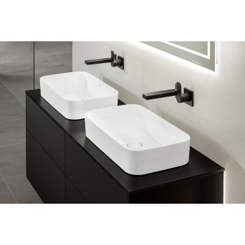 Surface-mounted washbasin Rectangle Finion, 414361, 600 x 350 mm