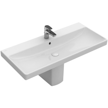 Vanity washbasin Rectangle Avento, 415680, 800 x 470 mm