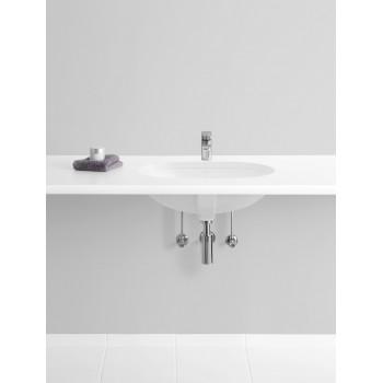 Undercounter washbasin Oval O.novo, 416260, 600 x 350 mm