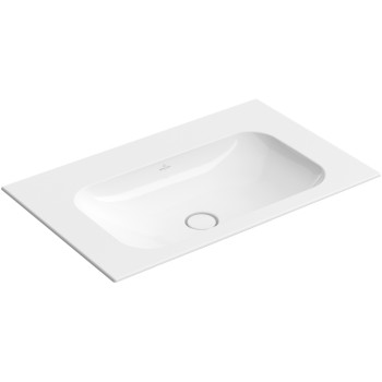Vanity washbasin Rectangle Finion, 416483, 800 x 500 mm