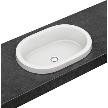 Built-in washbasin Oval Architectura, 416660, 615 x 415 mm