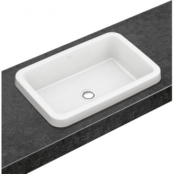Built-in washbasin Rectangle Architectura, 416760, 615 x 415 mm