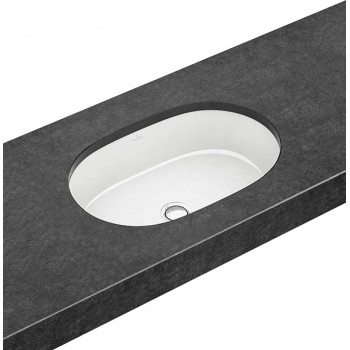 Undercounter washbasin Oval Architectura, 417660, 540 x 340 mm