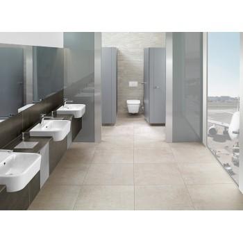 Semi-recessed washbasin Rectangle Architectura, 419055, 550 x 430 mm