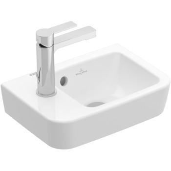Handwashbasin Compact Angular O.novo, 434236, 360 x 250 mm