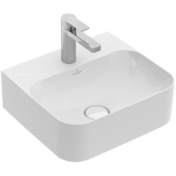 Handwashbasin Rectangle Finion, 436443, 430 x 390 mm