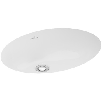 Undercounter washbasin Oval Lunea, 512050, 495 x 360 mm