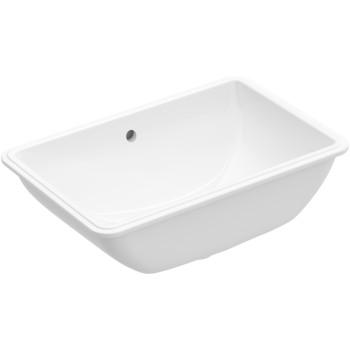 Undercounter washbasin Rectangle Lunea, 512253, 535 x 335 mm