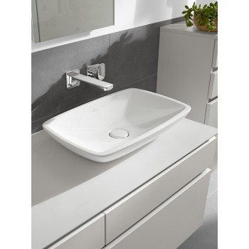 Surface-mounted washbasin Rectangle Loop & Friends, 515400, 585 x 380 mm