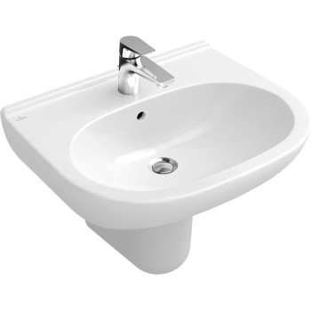 Washbasin Oval O.novo, 516065, 650 x 510 mm
