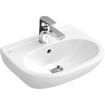 Washbasin Compact Oval O.novo, 516655, 550 x 370 mm
