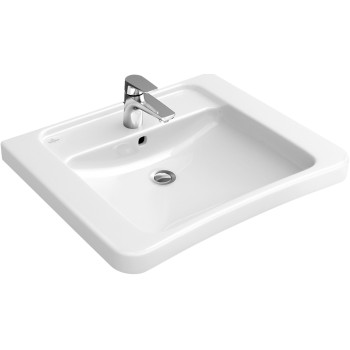 Washbasin Vita Rectangle Architectura Vita, 517860, 600 x 555 mm