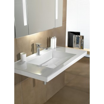 Vanity washbasin Rectangle Metric Art, 519511, 1000 x 550 mm