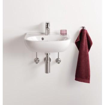 Handwashbasin Compact Oval O.novo, 536045, 450 x 350 mm