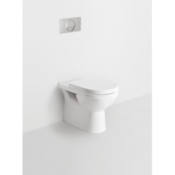 Washdown toilet Oval O.novo, 565710, 360 x 560 mm