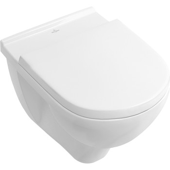 Washdown toilet Oval O.novo, 566010, 360 x 560 mm