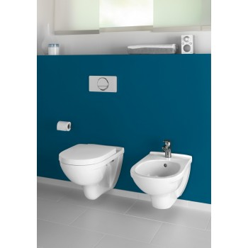 Washdown toilet Oval O.novo, 566010, 360 x 560 mm