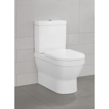 Washdown toilet for close-coupled toilet-suite Oval Architectura, 568610, 370 x 700 mm