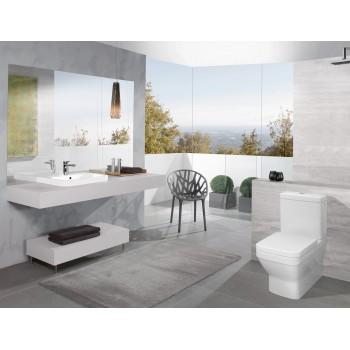 Washdown toilet for close-coupled toilet-suite Rectangle Architectura, 568710, 370 x 700 mm