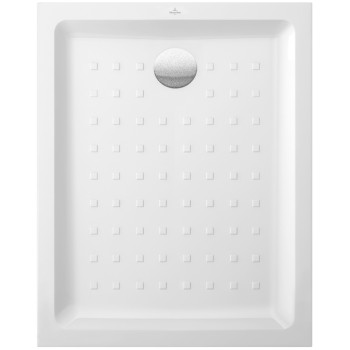 Rectangular shower tray Rectangle O.novo, 606180, 1000 x 800 x 60 mm, Shower tray depth: 30 mm