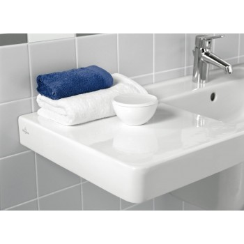 Vanity washbasin Rectangle Architectura, 611813, 1300 x 485 mm
