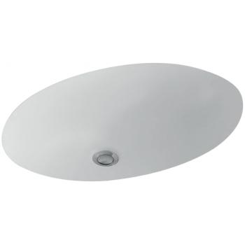 Undercounter washbasin Oval Evana, 614400, 615 x 415 mm