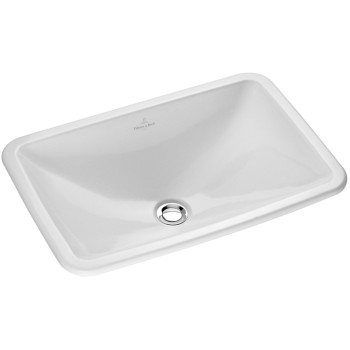 Built-in washbasin Rectangle Loop & Friends, 614520, 675 x 450 mm