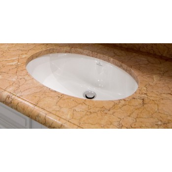 Undercounter washbasin Oval Evana, 614700, 500 x 350 mm