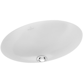 Undercounter washbasin Oval Loop & Friends, 616100, 385 x 255 mm