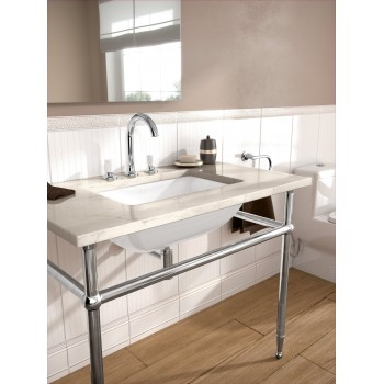 Undercounter washbasin Rectangle Loop & Friends, 616300, 540 x 340 mm