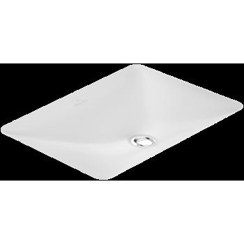 Undercounter washbasin Rectangle Loop & Friends, 616320, 615 x 380 mm