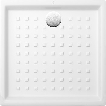 Square shower tray Square O.novo, 622190, 900 x 900 x 60 mm, Shower tray depth: 30 mm