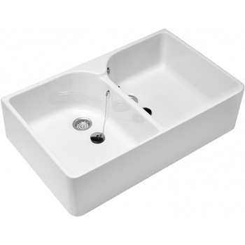 Double sink Rectangle O.novo, 633200, 895 x 220 x 550 mm