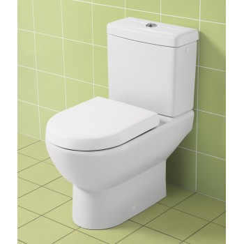 Washdown toilet for close-coupled toilet-suite Oval Subway, 660910, 370 x 670 mm