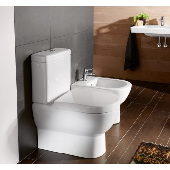 Washdown toilet for close-coupled toilet-suite Oval Subway, 661010, 370 x 670 mm