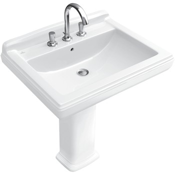 Washbasin Rectangle Hommage, 710165, 650 x 530 mm