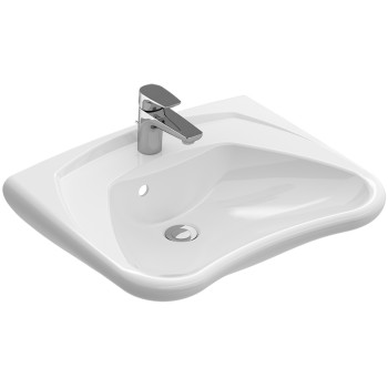 Washbasin Vita Rectangle O.novo Vita, 711960, 600 x 490 mm
