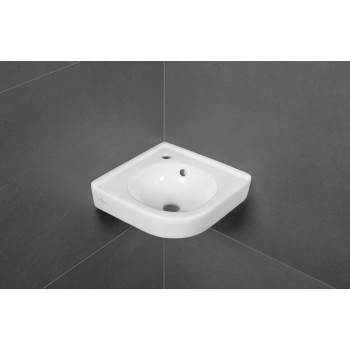 Corner handwashbasin Rectangle O.novo, 731032, Side length: 320 mm