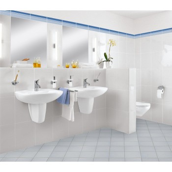 Washdown toilet Oval O.novo, 768210, 360 x 540 mm