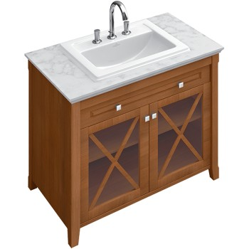 Vanity unit with washbasin Angular Hommage, 897963, 985 x 905 x 620 mm
