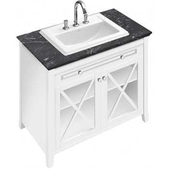 Vanity unit with washbasin Angular Hommage, 898063, 985 x 905 x 620 mm