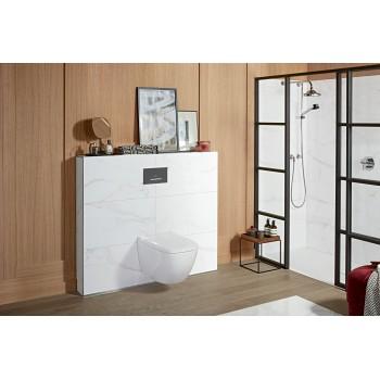 Toilet flush plate Angular ViConnect, 922169, 253 x 145 x 20 mm