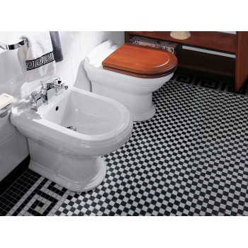 Toilet seat and cover Oval Hommage, 992661,